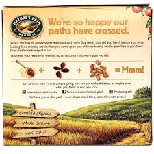 Are Kashi Pumpkin Spice Flax Bars Healthy by Natures Path Honey Oat Crunch Flax Plus Granola Bars Honey And