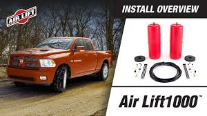 Install Overview: 60818 - Air Lift 1000 - Dodge Ram 1500 - YouTube
