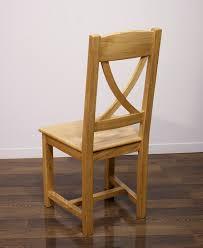 chaise en ch ne massif chaise olivier en chêne massif de style cagne assise chêne