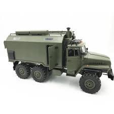100 Rc Military Trucks WPL B36 Ural 116 24G 6WD Car Truck Rock Crawler