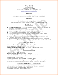 Cota L Resume Examples Sample Certified Occupational Therapy