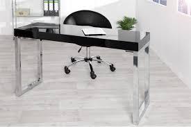 bureau design noir laqué bureau design design