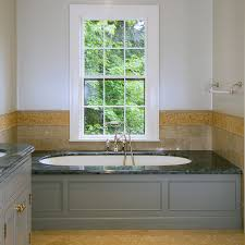Tiling A Bathtub Surround by Bed U0026 Bath Window Treatment With Tile Wall Surround And Whirlpool