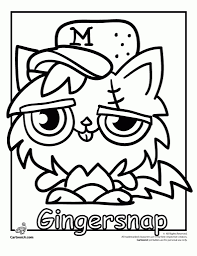 Moshi Monsters Coloring Pages To Print Az In Monster