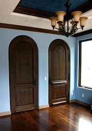 Rustic Interior Doors Spanish Style Chandelier