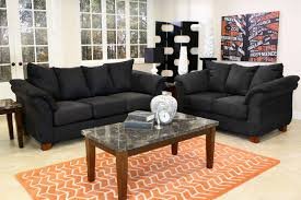 the shasta black living room collection mor furniture for less