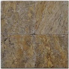scabos travertine floor tile shop big pacific 6 in x 6 in scabos travertine floor tile at lowes