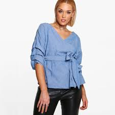 online buy wholesale ladies wrap tops from china ladies wrap tops