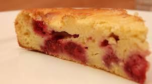 gâteau aux framboises et tofu soyeux sans beurre mapom en