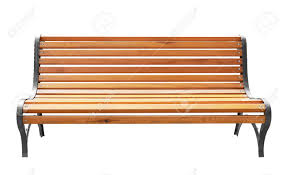 wooden park bench d render clipping stock illustration pictures on
