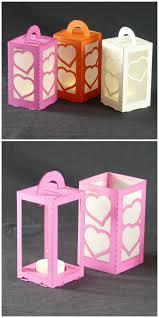 Lasercut Paper Lanterns With LED Tea Light