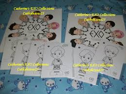 My EXOs A Day In EXOPLANET Coloring Book