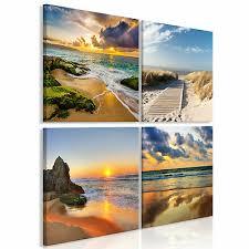 landschaft meer natur leinwand deko bilder wandbilder xl