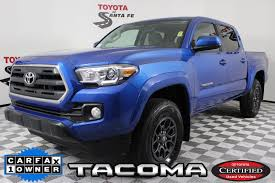 Certified Pre-Owned 2016 Toyota Tacoma SR5 In Santa Fe #GM013660T ...
