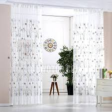 Blue Sheer Curtains 96 by 96 Inch White Curtains Reyna White Ruffle Curtain Panel Set 96 In