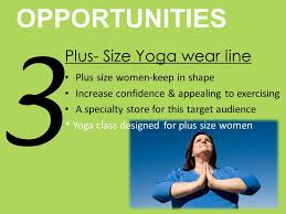 12 OPPORTUNITIES 3 Plus Size Yoga Wear