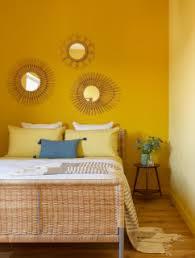 75 gelbe mediterrane schlafzimmer ideen bilder april