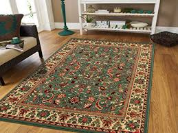 Persian Rugs For Living Room 5x8 Green Area Rug Greens Tabriz Oriental 5x7 Carpet