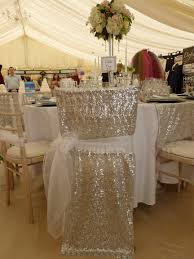 White Organza Sash Over Silver Sequin Chair Veil By Simply ... Chair Cover Ding Polyester Spandex Seat Covers For Wedding Party Decoration Removable Stretch Elastic Slipcover All West Rentals Chaivari Chairs And 2017 Cheap Sample Sashes White Ribbon Gauze Back Sash Of The Suppies Room Folding Target Yvonne Weddings And Vertical Bow Metal Folding Chair Without A Cover Hire Starlight Events South Wales Metal Modern Best Rated In Slipcovers Helpful Customer Decorations For Reception Style Set Of 10 150 Dallas Tx Black Ivory