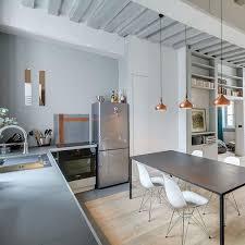 cuisine ouverte sur s駛our meilleur cuisine ouverte design id es de d coration cour arri re