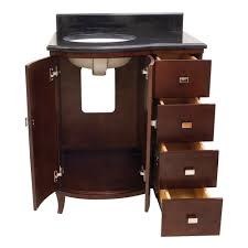 Bathroom Vanity With Drawers On Left Side by Astonishing 30 Bathroom Vanity With Drawers Shop Vanities At Lowes