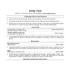 Functional Resume Word 2007 Chronological Word2007 Recent College Grad Template