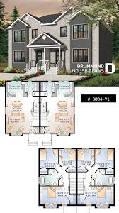 100 Semi Detached House Designs Country Style Semi Detached With 3 Bedroom Units On Two Floors