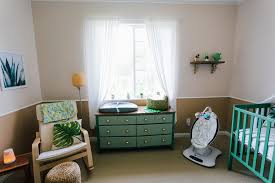 Ikea Rocking Chair Nursery by The Succulent And Cacti Themed Nursery Reveal
