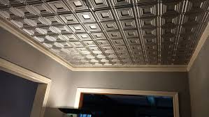 Tegular Ceiling Tile Dimensions by Living Dining Ceiling Tile Ideas U0026 Photos Decorativeceilingtiles Net