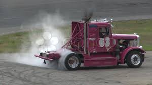 100 Big Trucks Racing Motorsports Rig Racing Diesel Truck Donut Burnout Footage