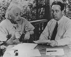 From the archives Leo Szilard working with Albert Einstein on his