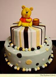 Winnie The Pooh Baby Shower by Baby Pooh Bear U0026 Hunny The Hudson Cakery
