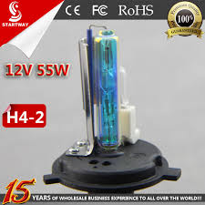 best sales 12v 55w hid xenon l bulb h4 2 hid and halogen dual