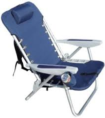 Rio Backpack Beach Chair With Cooler by Beach Chairs Rio Brands Backpack Beach Chairs