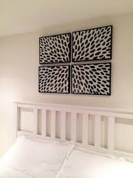 DIY FRAMED FABRIC WALL ART