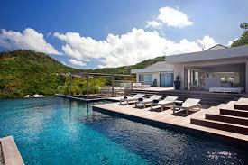 Collect This Idea Stylish Caribbean Hideaway ETR Modern Holiday Villa In St Barts