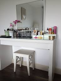 Makeup Vanity Table With Lighted Mirror Ikea by Table Sweet Makeup Vanity Bedroomnities With Mirrors Trendsnity