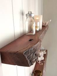 Floating Shelves Australia Set Of Rustic Live Edge Narrow Wall Bathroom Over Toilet Moun Full Size