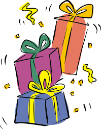 Birthday Present Clipart