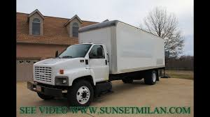 100 24 Ft Box Trucks For Sale HD VIDEO 2005 GMC C7500 FT BOX TRUCK FOR SALE SEE WWW SUNSETMILAN