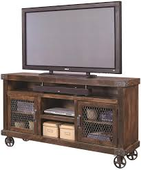 Rustic Industrial Style Entertainment Unit At Darvin Furniture