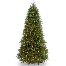 Fraser Fir Artificial Christmas Tree Sale by Slim Pre Lit Christmas Trees