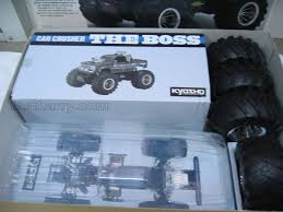 100 Nitro Rc Trucks For Sale Vintage Kyosho The Boss 110th Scale RC Monster Truck Car Crusher