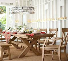 Pottery Barn Dining Room Table Dinning Awesome Extending