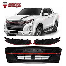 100 Truck Grills Hot Item ABS Lamps Cover Fit For Isuzu DMax 20162019 ABS Grille