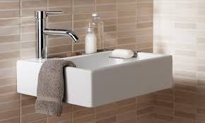 bahtroom alluring wall tile color and simple model plus silver