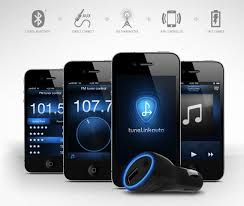 Tunelink Auto FM Transmitter Connects To Your iPhone Over Bluetooth