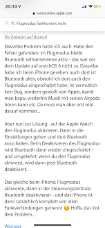 apple 5 edelstahl flugmodus defekt apple community
