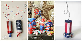 Toilet Paper Roll Crafts For The 4th Of July