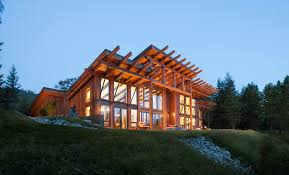 Green Building using sustainable Forest products incorporating